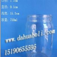 750ml罐头瓶酱菜瓶蜂蜜瓶厂家直销各种玻璃瓶