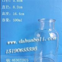 590ml广口试剂瓶 输液瓶 医药瓶 定做试剂瓶