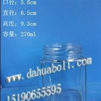 方形蜂蜜玻璃瓶/徐州蜂蜜瓶价格/酱菜玻璃瓶
