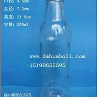520ml麻油玻璃瓶 酱油醋瓶 橄榄油瓶 香油玻璃瓶