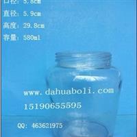 580ml酱菜玻璃瓶,麻辣酱玻璃瓶,辣椒酱玻璃瓶