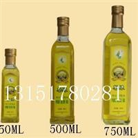 250ml玻璃橄榄油瓶,500ml橄榄油玻璃瓶,750ml装橄榄油的瓶子