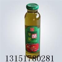 果醋玻璃瓶,果醋瓶,310ml果醋瓶,耐高温饮料瓶配套瓶盖