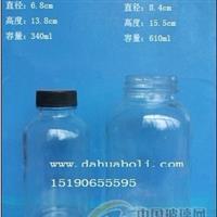340ml--610ml枇杷膏瓶  定做各种玻璃瓶 配套瓶盖