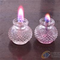 供应玻璃瓶玻璃油灯玻璃烛台