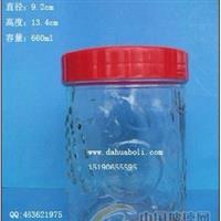 660ml罐头瓶 酱菜瓶 食品玻璃瓶 广口玻璃罐