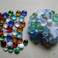 琉璃(玻璃)扁珠,彩色透明珠珠