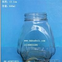 640ml蜂蜜玻璃瓶食品玻璃瓶,徐州玻璃瓶批发