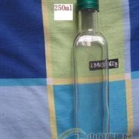 供应玻璃瓶 玻璃酒瓶 玻璃橄榄瓶