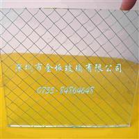 透明方格夹丝玻璃厂