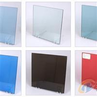 供应彩色夹层玻璃 彩色夹胶玻璃 红色夹胶玻璃