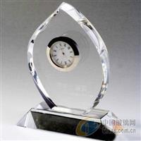 广州水晶笔筒 广州水晶钟表制作 纪念品批发