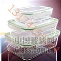供应保鲜盒、玻璃盆、玻璃容器