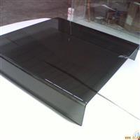 深圳西丽镇热弯厂 热弯茶几烤漆玻璃