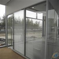 苏州中控双层玻璃成品隔断,玻璃隔断