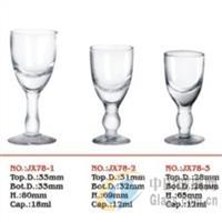 人工带杆小白酒杯-B1Y78系列
