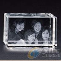 水晶影像耗批发水晶内雕