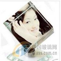 K9料水晶影像方体水晶魔方批发