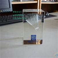可口可乐模型水晶笔筒开业纪念品