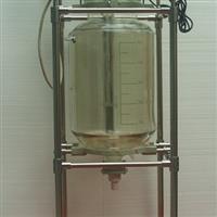 双层玻璃反应釜玻璃反应器