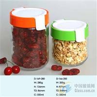 供应玻璃罐,储物罐,密封罐。