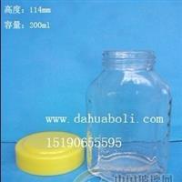 200ml蜂蜜玻璃瓶/玻璃蜂蜜瓶/徐州玻璃瓶 配套瓶盖
