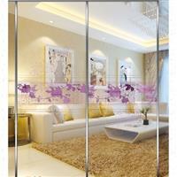 装饰玻璃-冰雕钛金系列