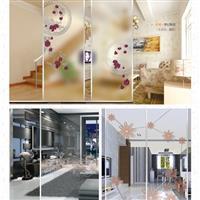 丝印玻璃-冰雕丝印系列