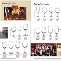 中国玻璃网推荐接杆红酒杯