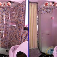 广州浴室磨砂玻璃贴纸透光不透明
