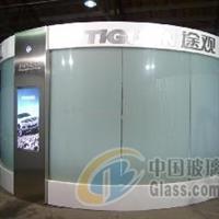 弧形调光玻璃 弯钢化调光玻璃
