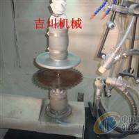 圆锯片喷砂机