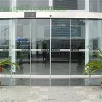 广州市自动感应玻璃门订做安装