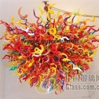供应艺术玻璃、吹制艺术玻璃灯饰