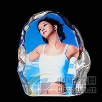 水晶影礼品水晶白坯批发水晶耗材