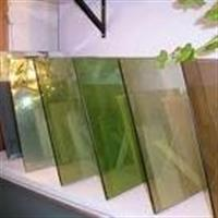批量供应4-6有色玻璃茶色