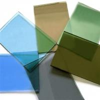 批量供应4.5.6有色玻璃茶色厂