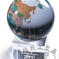 水晶地球仪,深圳水晶球定制批发