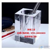 深圳握手水晶奖杯