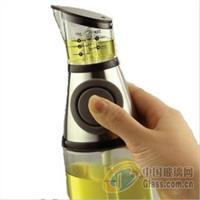 供应定量油壶 按压油壶玻璃瓶