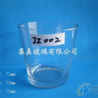 供应玻璃杯斜身杯磨砂杯