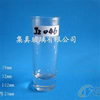 玻璃水杯酒杯厚底玻璃杯
