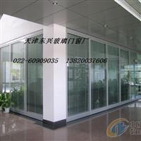 天津河北区玻璃门定做厂家