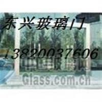 天津红桥区玻璃门安装实践