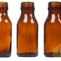 药用玻璃瓶 棕色 模制