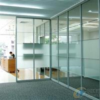 广州办公室铝合金玻璃高隔断安装