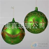 电镀球,灯工吊饰球,彩绘玻璃球