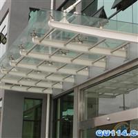 南京新维特玻璃雨棚