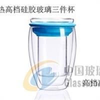 CORUSO高耐热玻璃杯三件套