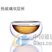 CORUSO高耐热双层玻璃茶碗